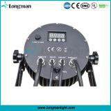 Суперяркий 18*10W RGBW Водонепроницаемый светодиодный индикатор дискотека на открытом воздухе