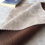 贅沢なソファーの織布総合的な革ファブリック