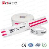 Wristband termico di codice RFID di Qr per la gestione del paziente ricoverato/bambino
