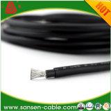 O cabo do picovolt, cabo solar, fio solar, painéis do fio, fio UV, dobra o fio isolado