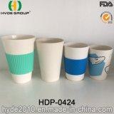 2016 Hot Sales Eco-Friendly Coupe de café en fibre de bambou biologique (HDP-0424)