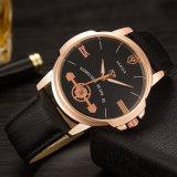 H365 OEM Embleem Beschikbaar voor Luxe van de van het Bedrijfs horloge van Mensen het Horloge van het Kwarts van het Ontwerp van de Stijl