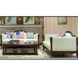 居間の家具(AS845)のための現代簡単なソファー