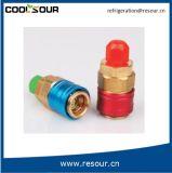Connecteur en laiton de coupleur rapide de réfrigération de Coolsour
