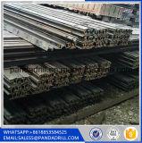 La guida comune ed il binario d'acciaio usato Q235 55q