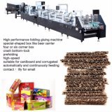 Caja de papel corrugado máquinas de fabricación con Crash Lock-Bottom GK-1100(GS)