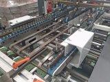 Carpeta de alta velocidad automática Gluer cuatro y máquina de la esquina seises