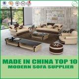 現代居間の家具の一定の房状の革ソファーの椅子