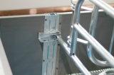 Cassa di figliata galvanizzata del doppio maiale per la scrofa