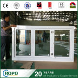 Guichet de pli de Bi de double vitrage de PVC/UPVC Windows