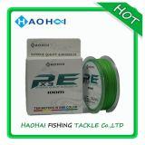 8 Strang-Fluo-Gelbe Farben-super starke u. glatte PET Fischerei-Zeile