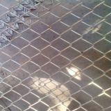 Frontière de sécurité galvanisée de treillis métallique de diamant de maillon de chaîne