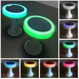 바를 위한 작은 가정 장식 RGB 색깔 변경 태양 LED 책상 원격 제어 빛 또는 정원 또는 공원