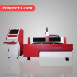 chapa metálica de latão Laser de fibra de fabricação da máquina de corte de metal com marcação CE