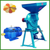 Mini máquina de moedura do moinho de disco do triturador da grão de alimentação animal