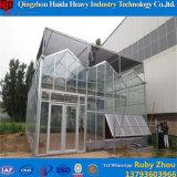 De binnen het Plantaardige Groeien Serre van het Glas van het Frame van het Aluminium