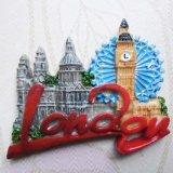 Lieux touristiques Well-Sold Espagne Cadeau souvenir Polyresin Fridge Magnet 3D