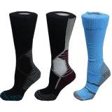 Einfache Muster-Entwurfs-Socken für Unisexkleid-Komprimierung-Socke