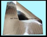 Papel de aluminio reforzado del papel de Kraft a hacer bolsos