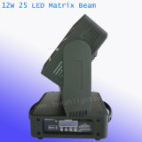 Träger-bewegliches Hauptlicht des Pixel-5*5 der Matrix-25PCS 12W RGBW LED