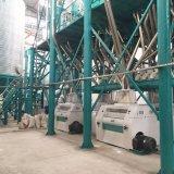 maquinaria del molino de la comida del maíz de la comida del desayuno de Zambia 150t/24h