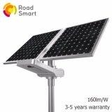indicatore luminoso di via solare esterno intelligente di Wiress LED della batteria di litio 15-50W