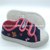Chaussures d'injection de chaussures occasionnelles de toile d'enfants de qualité personnalisées (FHH1206-8)