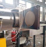 PP PE 필름 측력 지류를 가진 2 단계 압출기 입자 제조 장치