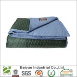 72*80 Inch Green & Blue Not Woven Fabric Furniture Blankets