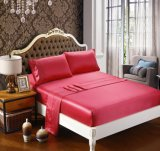Ropa de cama 100% de la morera conjunto de ropa de cama de seda de lujo