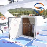 barco de China del barco de pasajero de la fibra de vidrio del 18m