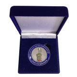 Boîte de velours bleu de haute qualité pour les bijoux (YB-Z-003)