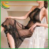 Women's Lingerie Sexy Body dentelle Bow racé Mesdames Spice s'adapter à la tentation de vêtements de nuit sous-vêtements