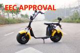 Door de EEG goedgekeurde Elektrische Autoped Citycoco 1500W