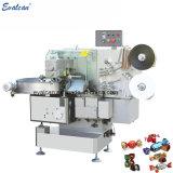 Automatique torsion simple ou double emballage pour les bonbons mous de la machine d'enrubannage