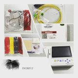 O eletrocardiograma Meditech 6012 Toque ECG eletrocardiógrafo Software USB ao PC multi-idioma