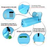 Kampierender fauler Luft-Sofa-schnell aufblasbarer Luft-Sonnenschutz-Nichtstuer-wasserdichter einzelner Schlafsack