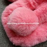 Шарф шерсти кролика Rex оптового просто типа фабрики реальный для девушок и женщин