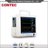 De Geduldige Monitor van Resp Contec van 12.1 Temperaturen van de Duim ECG SpO2 NIBP