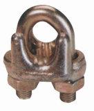 철사 밧줄 클립, 탄소 또는 가단성 강철