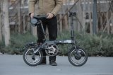 Un motorino elettrico Ebike pieghevole delle due rotelle della nuova bici elettrica di piegatura