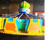 El equipo de diversiones girando la rueda caliente volador atracciones para la venta