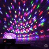 LED 수정같은 DJ 장비 훈장 마술 공 디스코 단계 점화