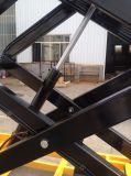 9 medidores de equipamento da manutenção elevada elétrico Scissor o elevador