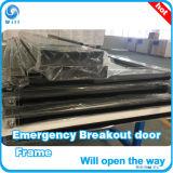 L'emergenza scoppia il portello scorrevole automatico