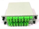 Divisore ottico del PLC di Lgx della fibra del modulo del divisore del PLC di Sc/APC 1X16