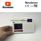 Mini cartão video feito sob encomenda do vídeo do cartão do folheto do LCD de 2.4 polegadas