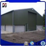 Cloche préfabriquée d'entrepôt de ferme de structure métallique