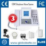 GSM 무선 감지기 (M5B)를 가진 무선 다기능 전화 주택 안전 경보망