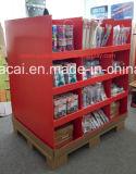 Nous Walmart Standard Cardboard Pallet Display avec 2 côtés pour Kitchenwares, Household Cardboard Pallet Display